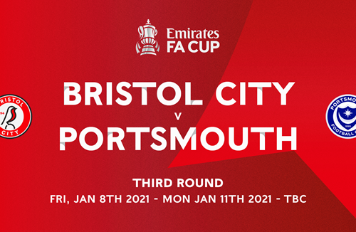 City face Pompey in FA Cup third round