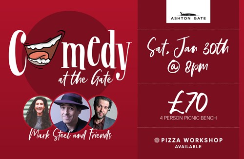 Mark Steel & Friends - Comedy at the Gate is back