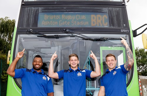 Ashton Gate Bus Services Launched