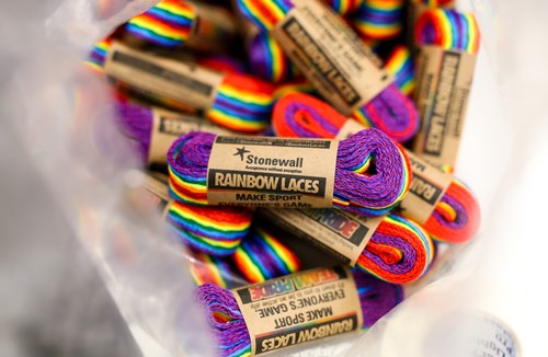 Robins support Rainbow Laces campaign