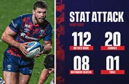 Stat attack: Bristol Bears 18-17 Northampton Saints