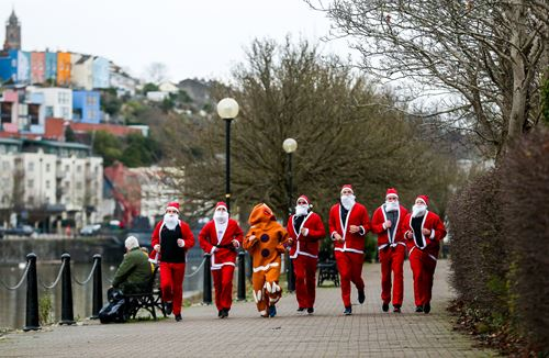 City Santas on the run for Children's Hospice South West