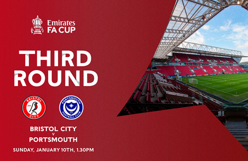 City versus Pompey FA Cup date confirmed
