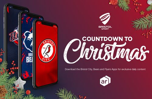 Enter the festive fun with our Bristol Sport Christmas Countdown