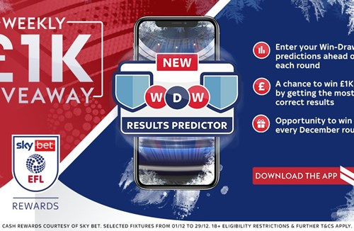 £1k to be won this weekend with Sky Bet EFL Rewards