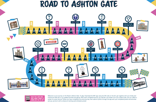 Bristol Sport Foundation (BSF) Launches 'The Road to Ashton Gate' App Game