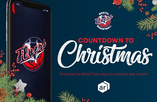 Bristol Flyers App: Christmas Countdown Day Four