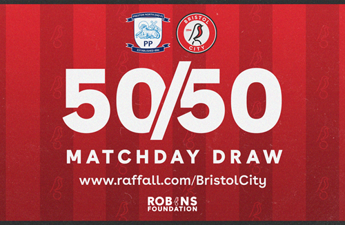 Win some Christmas cash with the 50/50 Matchday Draw