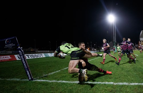 Earl's try-saving tackle wins December Play of the Month