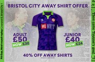 Win a purple & lime shirt signed by Brian Tinnion