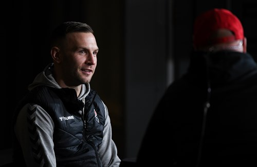 Weimann on Robins TV for Cherries test