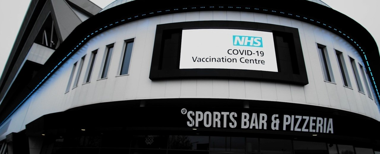 Ashton Gate Stadium NHS Vaccination Centre - Where to come and what to expect