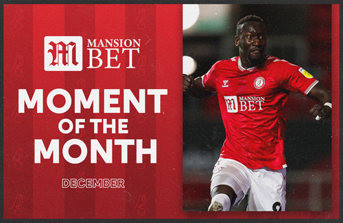 Diédhiou wins MansionBet December Moment of the Month
