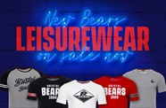 New Bears Leisurewear range on sale now