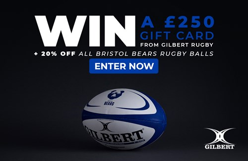 Win £250 to spend at Gilbert Rugby