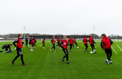 Gallery: City on the new training pitches