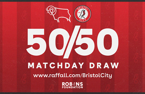 Win big with the 50/50 Matchday Draw