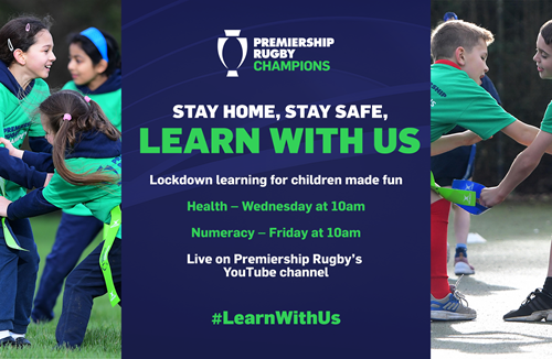 Premiership Rugby Champion Apps - Learn with us