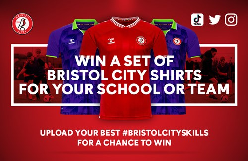 FREE City shirts for your junior team