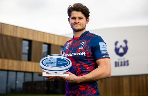 O'Conor named Gallagher Premiership Player of the Month for January