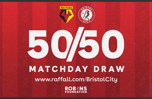 Don't forget your 50/50 Matchday Draw ticket