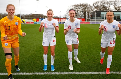 Salmon earns first cap in England victory
