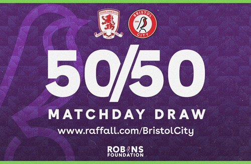 Win up to £1000 and support the Robins Foundation