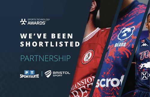 Bristol Sport nominated for Sports Technology Award