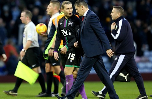 Cotterill Rues Difficult Day At Burnley