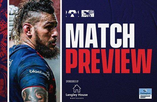 Match preview: Wasps (h) - Gallagher Premiership