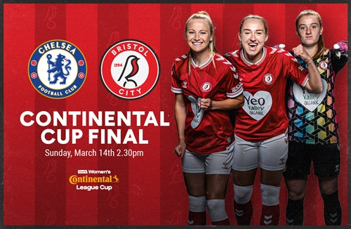 Robins TV coverage of the FA Continental Tyres Cup Final