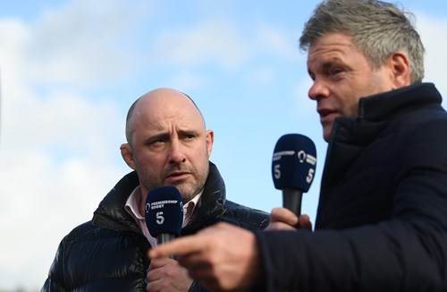 Falcons clash selected for Channel 5 broadcast