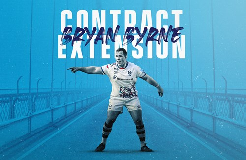 Bryan Byrne pens contract extension