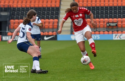 Report: Tottenham Hotspur 1-1 Bristol City Women