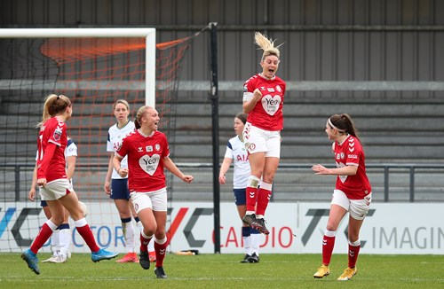 Highlights: Tottenham Hotspur 1-1 Bristol City Women
