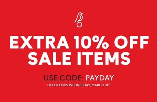 Further discount on selected City sale items