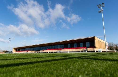 Watch: The Robins High Performance Centre being built