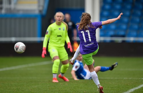 Report: Birmingham City Women 1-1 Bristol City Women