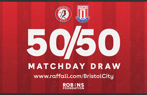 Enter the 50/50 Matchday Draw