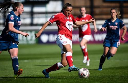 Report: Bristol City Women 0-4 Arsenal