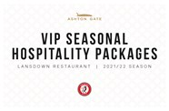 Seasonal hospitality now on sale