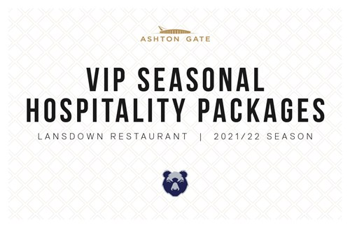 2021/22 VIP Seasonal Hospitality on sale now