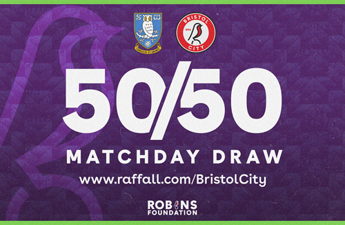 Don't forget to enter the 50/50 Matchday Draw