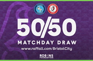 Don't forget to enter tomorrow's 50/50 Matchday Draw