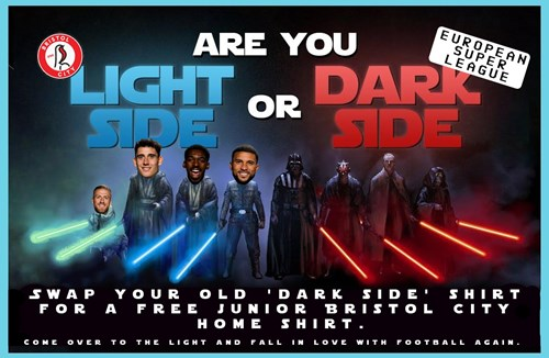 Receive a free junior home shirt and come over to the light