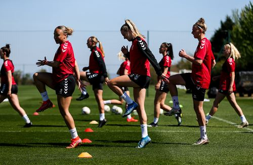 Gallery: City Women train at the Robins High Performance Centre
