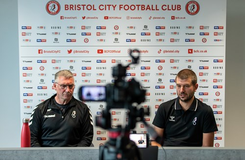 Press conference: Nigel Pearson and Jon Lansdown