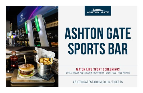 Watch the season run-in at Ashton Gate Sports Bar