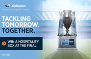 Win a hospitality box at the Gallagher Premiership Final 2021