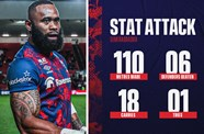 Stat attack: Bristol Bears 39-7 Gloucester Rugby